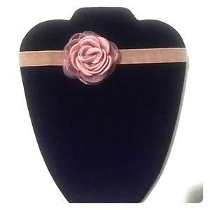 Jewelry - 🌹 Mauve Rose & Velvet Choker 🌹